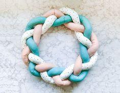 Free fabric wreath pattern step 8