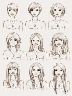 guía orientativa de qué cortes llevar si te estás dejando crecer el pelo
