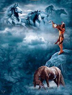 """""""O guerreiro sabe que é da alma que vem o animo então antes de cuidar das feridas físicas e do coração, ele ora ao seu Deus que lhe traga animo, pois de nada valerá a cura física e do coração se o animo e a esperança lhe falta.....Fé é a marca que o guerreiro traz marcado na sua alma""""."""