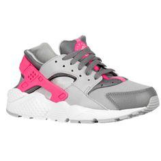 girls' grade school nike huarache run print running shoes nz