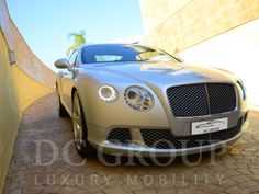 Bentley Continental GT MY 2012 for hire in Barcelona and other parts of the Western Europe. To hire Bentley Continental GT MY 2012 call us: +34 952 773943