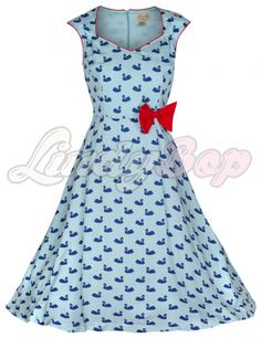 "Lindy Bop ""Leda"" vintage 50s style swing dress   Jurken   Miss Vintage   Retro, vintage geïnspireerde dames kleding"