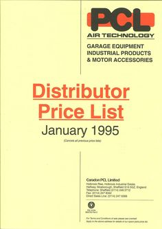 PCL - 1995 Price Guide
