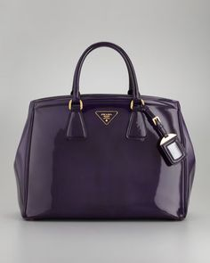 Spazzolato Large Double-Handle Tote Bag by Prada at Neiman Marcus.