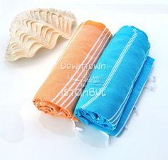 Beach Dress Pool Sea Towel Set of 2 Turkish by DowntownIstanbul, $29.99