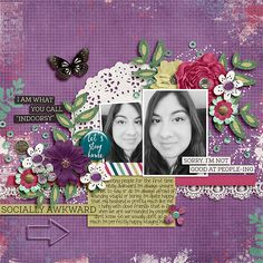 Layout created with {Introverting} Digital Scrapbook Kit by Red Ivy Design, Meghan Mullens and Amber Shaw available at Sweet Shoppe Designs http://www.sweetshoppedesigns.com/sweetshoppe/product.php?productid=33431&cat=803&page=1