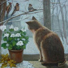 https://i.pinimg.com/236x/ed/98/f2/ed98f27f602f3f4d47c455c28e7005cf--basil-cat-art.jpg