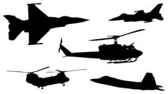 Military Aircraft Jets and Helicopters Decals - products - orange county - Dana Decals