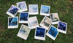 Die Ergebnisse, teilweise noch nicht voll entfaltet. Foto: Doris Austria, Polaroid Film, Pictures