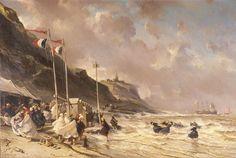Eugène Isabey - Plage de Granville