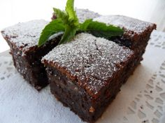Sweet Rice Chocolate Brownie 찹쌀초코 케익