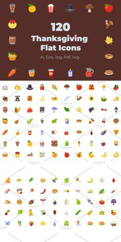 Vegetable Design, Thanksgiving Celebration, Icon Pack, Food Items, Design Projects, Snacks, How To Plan, Appetizers, Thanksgiving Holiday