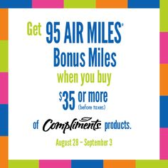 Don't miss out on Bonus Miles! Air Miles Rewards, Tips, Advice, Hacks, Counseling