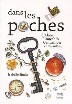 Livre jeu Dans les poches d'Alice, Pinocchio, Cendrillon et les autres... par Isabelle Simler
