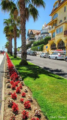 Cascais, Portugal, Easy living near the sea Portugal Destinations, Visit Portugal, Portugal Travel, Places Around The World, Around The Worlds, Places To Travel, Places To Go, Portuguese Culture, The Good Place