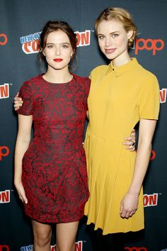 Zoey Deutch and Lucy Fry