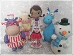 Peças de Mesa - Dra. Brinquedos   Sheila Bontia   Elo7