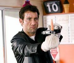 Clive Owen, one of my favorite actors demonstrates several ways of killing people with carrots, as well as guns in Shoot 'em Up.  I wrote a paper about this movie for an assignment from the theater portion of a Humanities class I took a couple of years ago. No problems writing about this one.