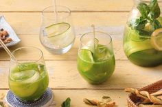Gurken-Limonade Pickles, Cantaloupe, Cucumber, Buffet, Fruit, Food, Paper, Dried Tomatoes, Dill Recipes