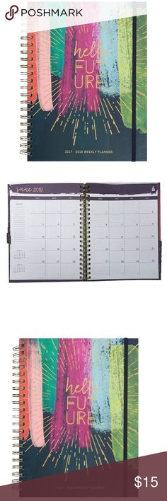 Me to We Hello Future 18 month Large Planner 17-19 Me to We Hello Future 18 month Large Planner August 2017-January 2019 Extra Notes Paged & Details [Me to We gives children access to education] Me to We Other