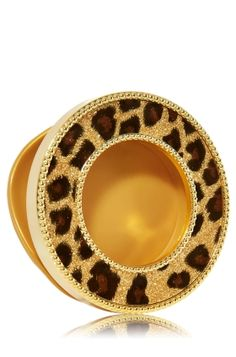 Cheetah - Scentportable Holder - Bath & Body Works - Wild thing! Radiate your fave fragrances into your car without a plug, battery or flame. The built-in clip base attaches to your visor or seat pocket for a scent-sational driving experience