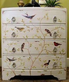 *The Graphics Fairy LLC*: Brag Monday - Beautiful Bird Dresser & Dream Valentine