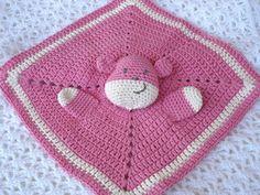 Copertine ad Uncinetto: Copertina neonato teddy doudou
