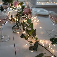 100 LED Battery Operated Fairy Lights, Rustic Wedding, Centerpiece, Room Decor, … – - New Sites Table Centerpieces For Party, Rustic Wedding Centerpieces, Flower Centerpieces, Wedding Decorations, Centerpiece Ideas, Wedding Rustic, Chandelier Centerpiece, Buffet Wedding, Wedding Country