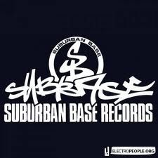 SUBURBAN BASE RECORDS Dj Images, Jungle Music, Drum N Bass, Record Company, Music Labels, Logo Design, Base, Calligraphy Fonts, Logos