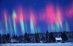 Multi-coloured splendour: 2012 is the year of the Northern Lights