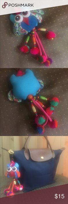 Cute Owl Bird Keyring Keychain Bag Charm Pompom Cute Owl Bird Keyring Keychain Bag Charm Pompom Accessories Key & Card Holders