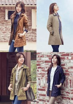 Ha Ji Won is travel-ready in 'Crocodile Lady' fall pictorial! Travel Wear, Travel Outfits, Fall Outfits, Casual Outfits, Fashion Outfits, Dope Outfits, Casual Clothes, Women's Fashion, Nami Island Autumn