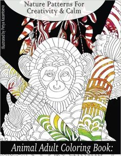Animal Adult Coloring Book: Nature Patterns for Creativity & Calm - Lilt Kids Coloring Books Coloring For Kids, Adult Coloring, Coloring Books, Care Bear Birthday, Color Activities, Patterns In Nature, Cute Creatures, Adult Children, Constellations