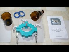 Cut Glass Bottles in 3 Minutes with $3. Corte garrafa de vidro (botella de vidrio) em 3 minutos - YouTube