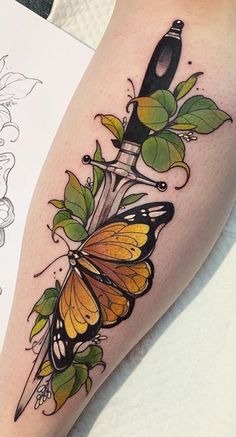 50 photos de tatouages ​​de papillon pour inspiration - Photos et tatouages ​​- Tatuagens . - 50 photos de tatouages ​​de papillon pour inspiration – Photos et tatouages ​​- Tatuagens - Pretty Tattoos, Love Tattoos, Unique Tattoos, Beautiful Tattoos, Body Art Tattoos, Small Tattoos, Tattoos For Women, Tatoos, Color Tattoos