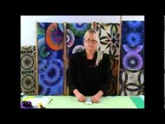 ▶ Tools for Paper Pieced Quilting with Judy Niemeyer ~ Quiltworx.com - YouTube