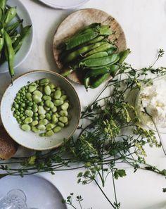 Les légumes verts sur le compte Instagram de Cannelle Vanille