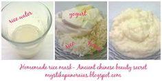 Τα Μυστικά της Παν..ωραίας: Υπέροχη αντιρυτιδική μάσκα προσώπου με βάση το ρύζι, εμπνευσμένη από αρχαίο κινέζικο μυστικό ομορφιάς!