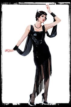 Flapper dress to go with the mobster.