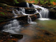 Red River Gorge Kentucky | Broke Leg Falls, Menifee County Park, Kentucky (Red River Gorge region ...