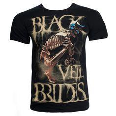 BLACK VEIL BRIDES (WRETCHED & DIVINE) T-SHIRT