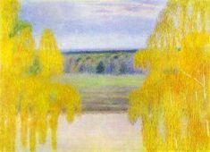 Borisovmusatov autumnsong - Victor Borisov-Musatov - Wikipedia