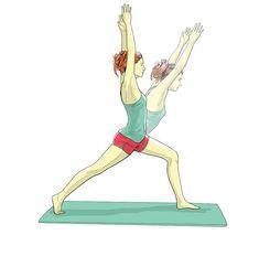 5 posições de yoga para alongar, fortalecer e relaxar - Go Outside Pilates, Hip Flexors, Yoga Positions, Stretches, Relaxer, Thighs, Sport, Natural Person, Pop Pilates