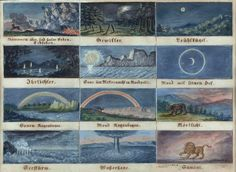 Phenomena Over and Under the Earth (1878) | The Public Domain Review