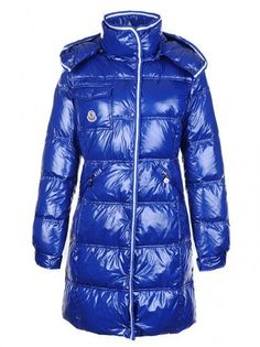 Moncler Down Coats On Sale,Moncler Down Coats Womens Hooded Blue Long Outerwear - $220.15 Moncler Coats   http://www.monclerlines.com/women-moncler-coat-c-4.html
