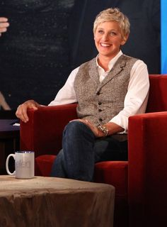 Ellen DeGeneres taught me a good laugh sometimes is all you need to solve problems. Also she is living proof that being kind and bringing happiness to others makes you beautiful and wonderful person.