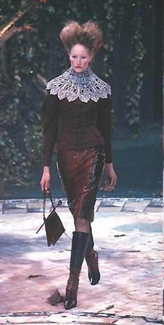 Givenchy by Alexander McQueen Fall Winter 1998 Haute Couture