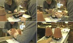 Genius! How to heat a room with tea lights & flower pots! Click for video.