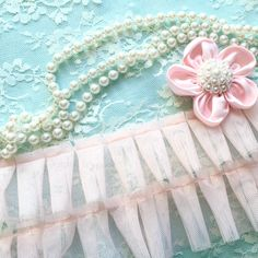 Gorgeous pleated tulle trim in a very soft pink. Very soft and fluffy to the touch. A gorgeous addition to your Mother's Day projects.