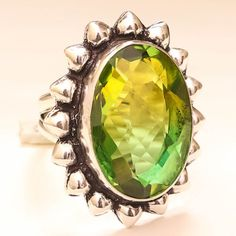 Shop Women's size 7 Rings at a discounted price at Poshmark. Sterling Silver Jewelry, 925 Silver, Tourmaline Gemstone, Jewelry Rings, Gemstones, Handmade, Color, Hand Made, Gems